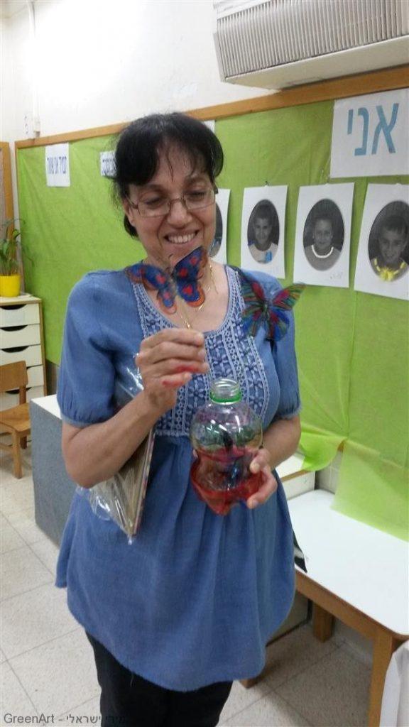 סדנת השתלמות לגננות עירית תל אביב להכרת האומנות הירוקה