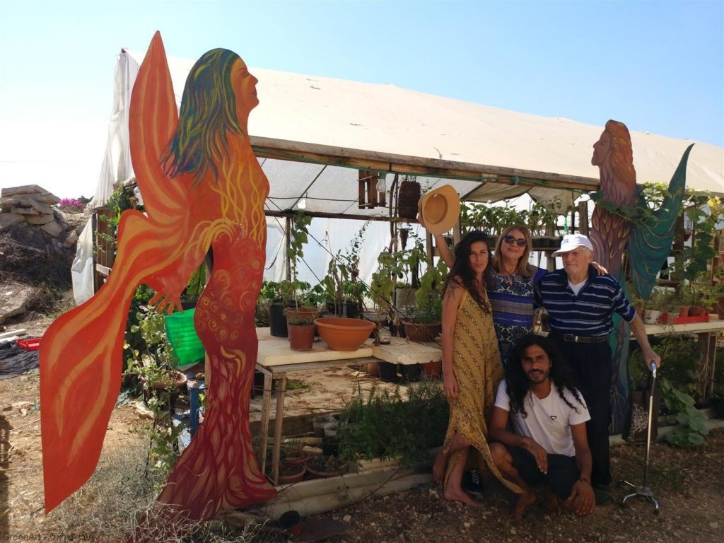 חקלאות אורגנית, אמנות וקיימות בסיור בחוות גן עדן שבניר לבנים