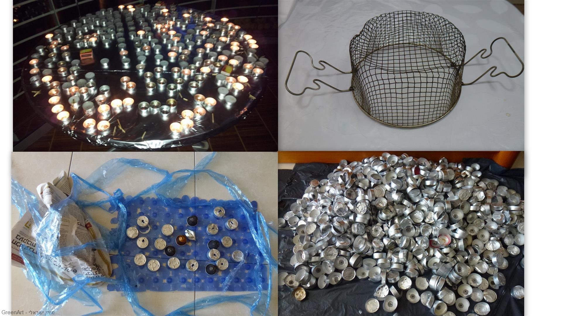 פסולת ההמונים שקמה לתחייה מחודשת לפיסול התמנון האקולוגי - ECO ART
