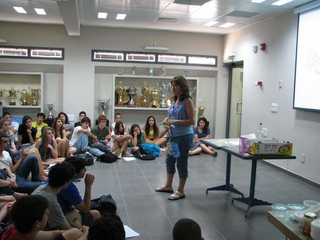 הסברה והעשרה למדריכי אוניברסיטת תל אביב לימים ירוקים בקהילה