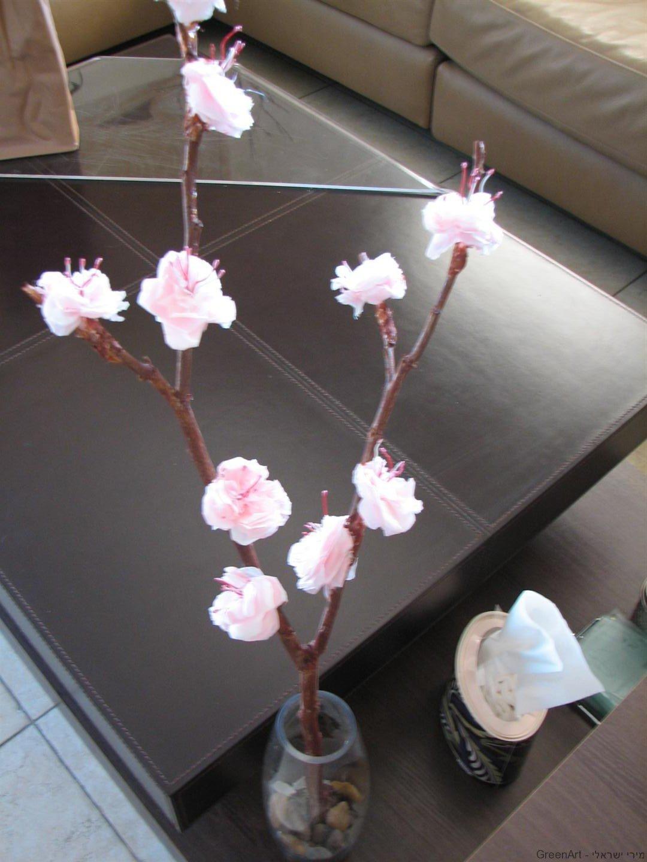 יצירת אבקנים לפרחים מחוטי תקשורת ישנים