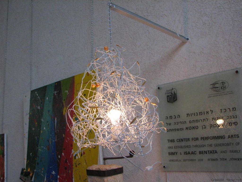 אור זהוב- בתערוכת איכות הסביבה ומיחזור בשוהם