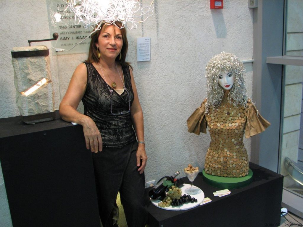 - in israel- Exhibition ecoart and recycling art