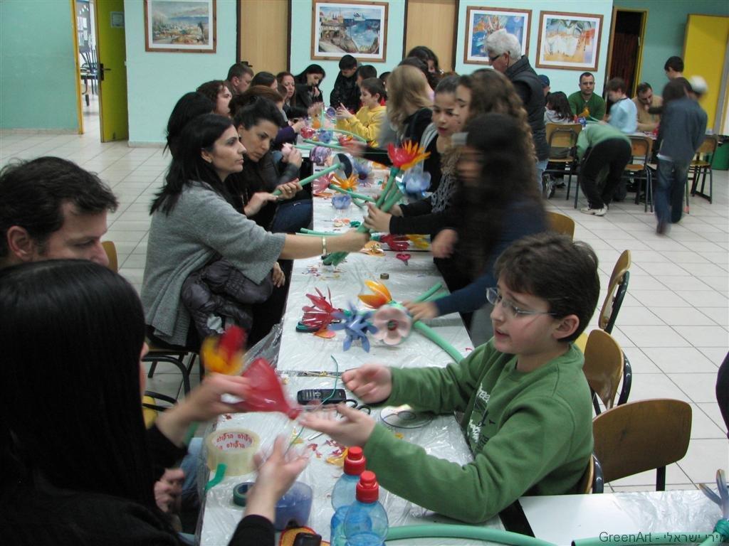 פעילות חינוכית ליום המשפחה לעידוד החינוך הסביבתי