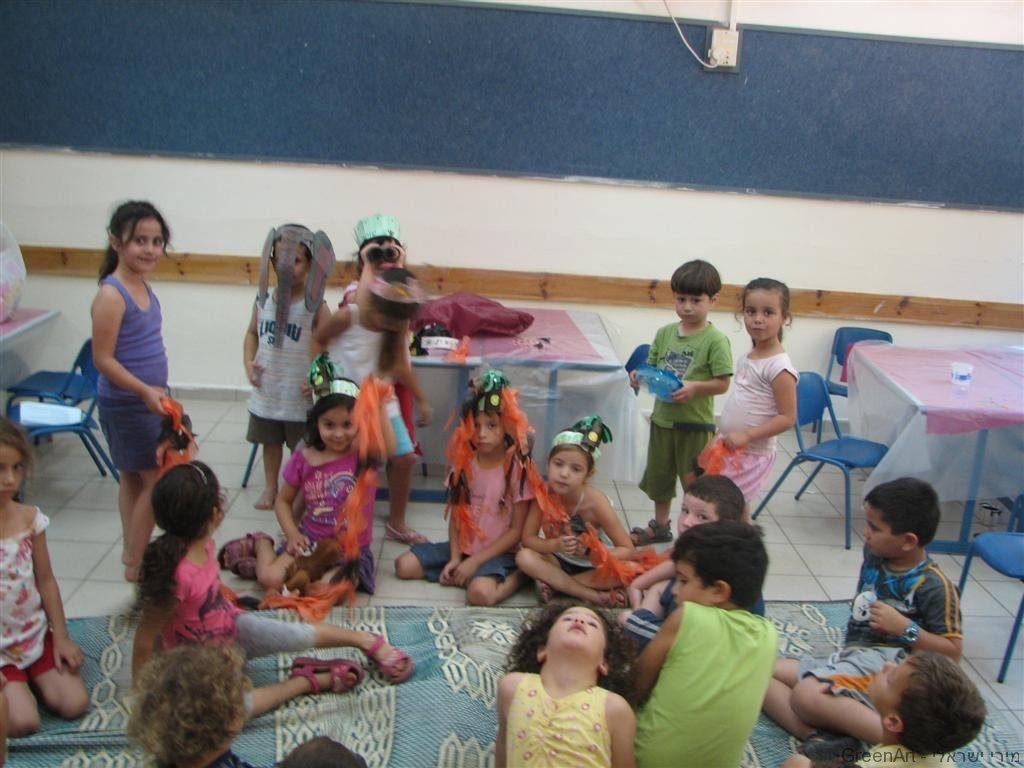 חינוך סביבתי שעת סיפור ויצירה לעידוד החינוך הסביבתי