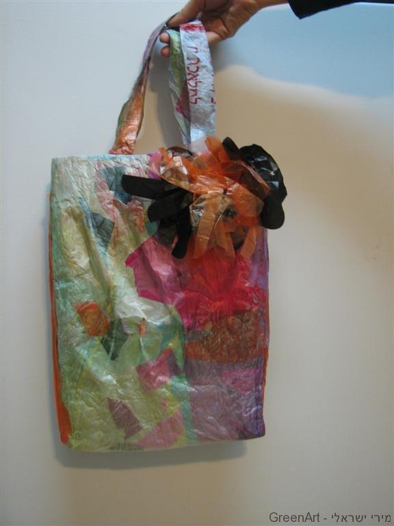 תיק רב פעמי משקיות ניילון