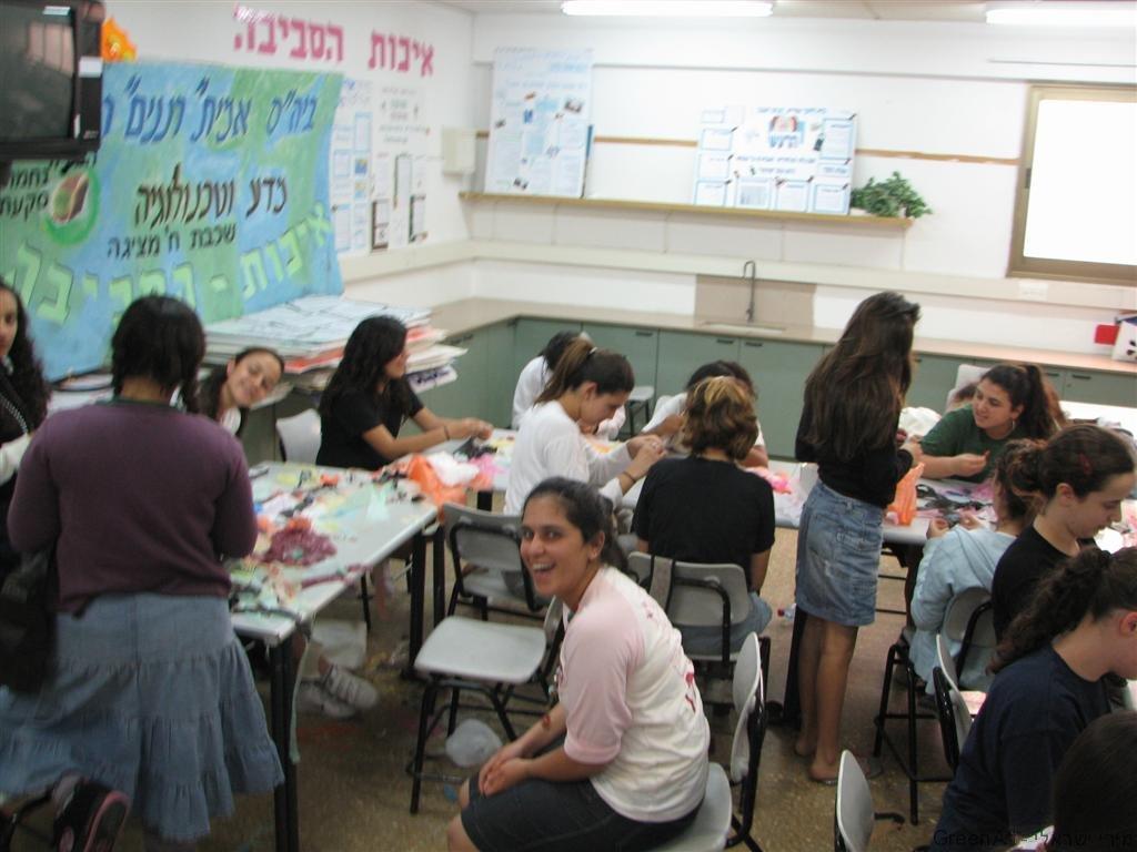 סדנאות חינוך סביבתי ליצירות משקיות הניילון