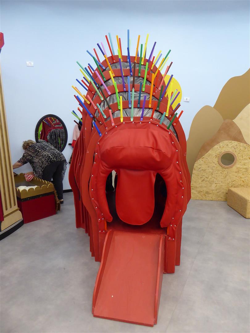 מיצבים תלת ממדיים לרשות המבקרים במרכז Art קיימא שבכפר סבא