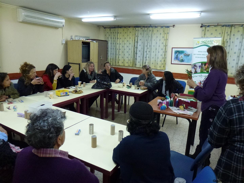 הרצאה וסדנת העשרה לטו בשבט בסימן שמירת הסביבה