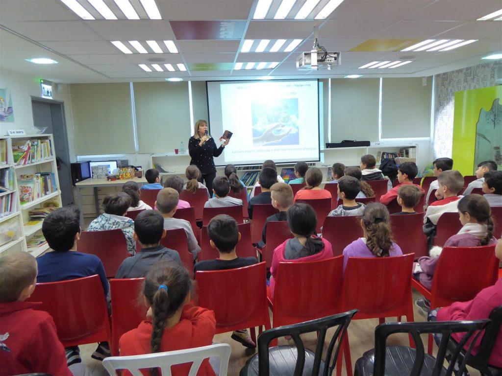הרצאות העשרה לקידום החינוך הסביבתי לתלמידי יגאל אלון בבת ים