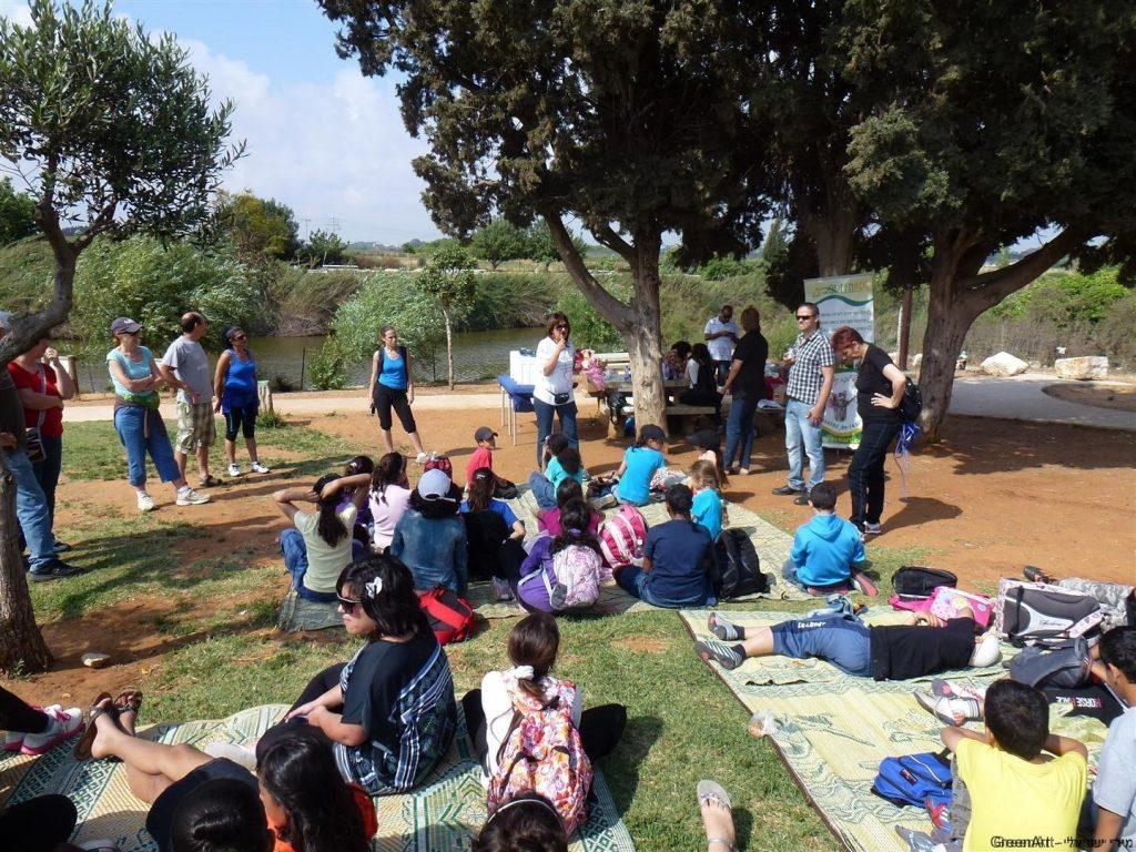 יום ירוק לחברת שטראוס המאמצת עמותות בקהילה