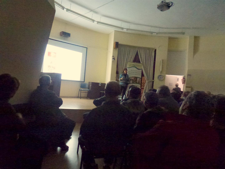 הרצאה מעשירה שאומנות וסביבה נפגשים - תרבות וקיימות מתחדשים