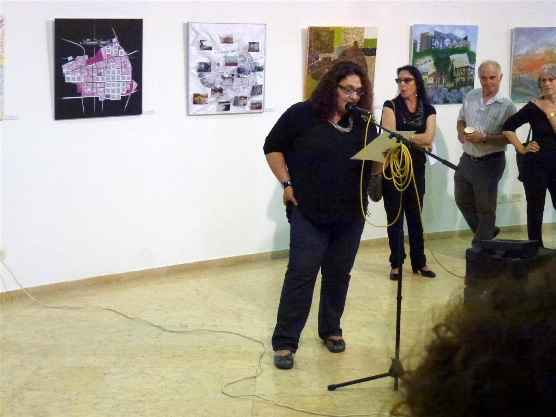 דברי ברכה של אוצרת התערוכה איסנה מאירוביץ' - יעקב