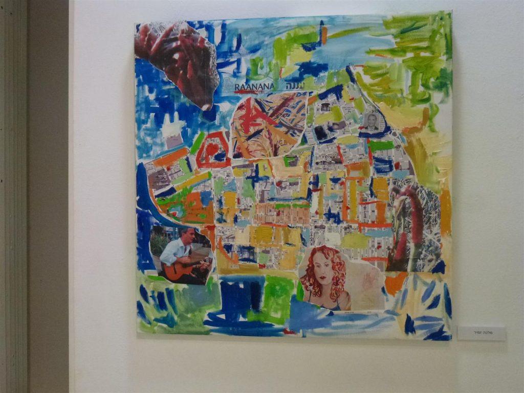 יצירות של חברי מוזה בתערוכת אמני רעננה על המפה