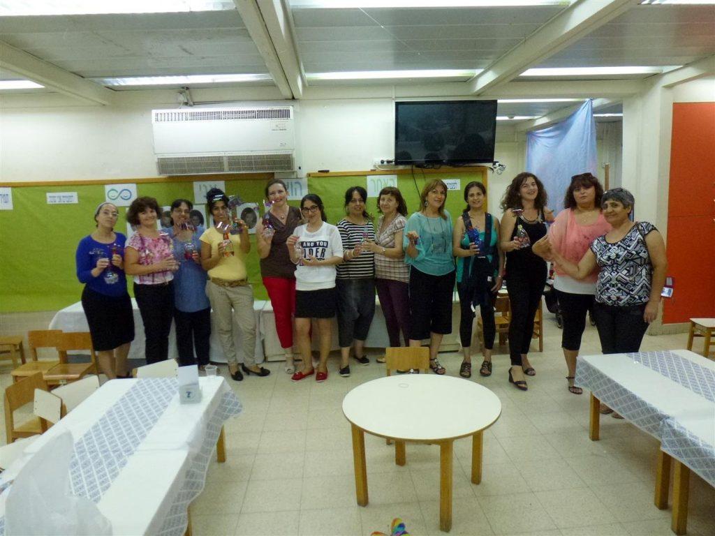הרצאה וסדנת העשרה ירוקה לגננות  של עירית תל אביב