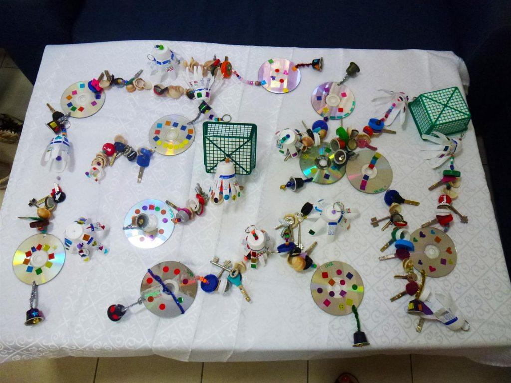 היצירות היפות של ילדי הפנימיה לסוכה ירוקה