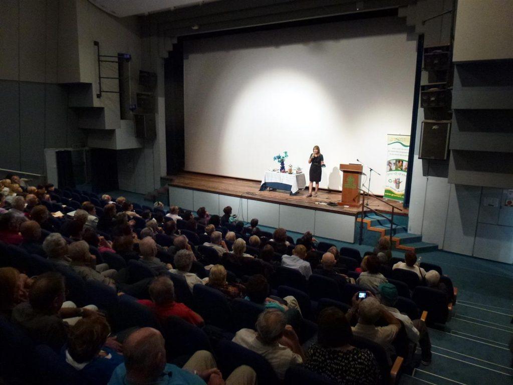 העשרה ירוקה לתושבי רעננה בהרצאה שלי ביד לבנים
