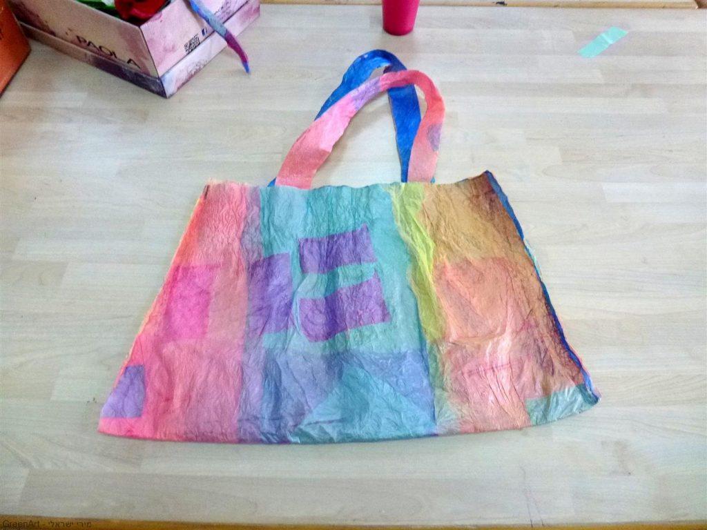 פעם היינו שקיות ניילון שהיו בשוק והיום הפכנו לתיק מרהיב שימושי וצבעוני