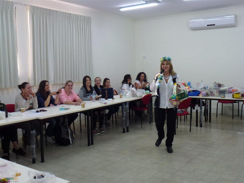 הדרכה לסייעות גני ילדים של עיריית תל אביב להטמעת החינוך סביבתי