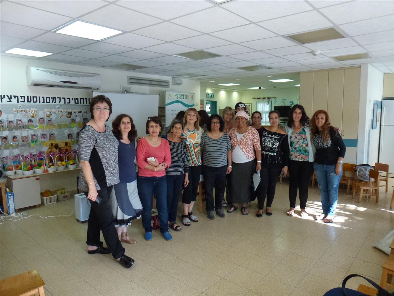מפגש העשרה ירוקה לסיום שנה לגננות דרום תל אביב