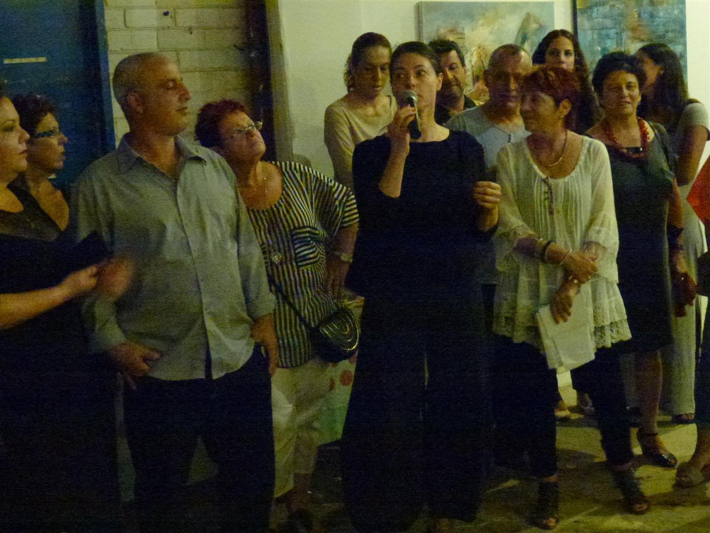 חברת הכנסת מרב מיכאלי שכיבדה אותנו באירוע הפתיחה
