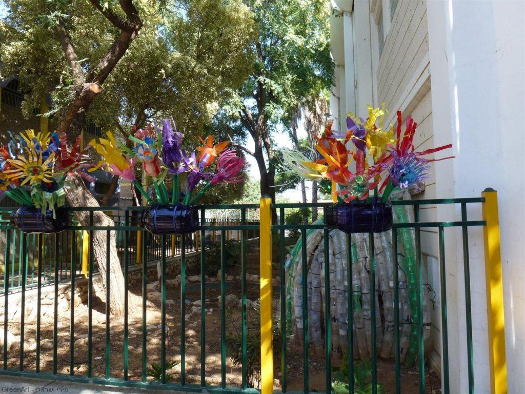 טיפוח גדר הגינה האקולוגית עם ילדי אמיר פתח תקוה