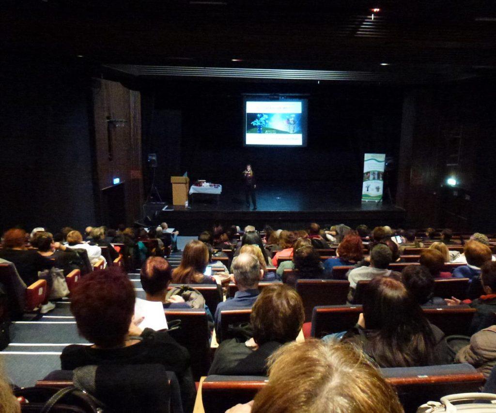 הרצאה במופת בראשון לציון המציגות את השפעת האמנות על התרבות החברה והסביבה