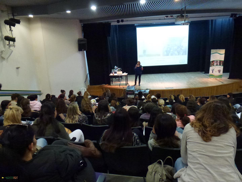 הרצאה להטמעת החינוך הסביבתי לגננות מועצות אזוריות גזר ובאר יעקב