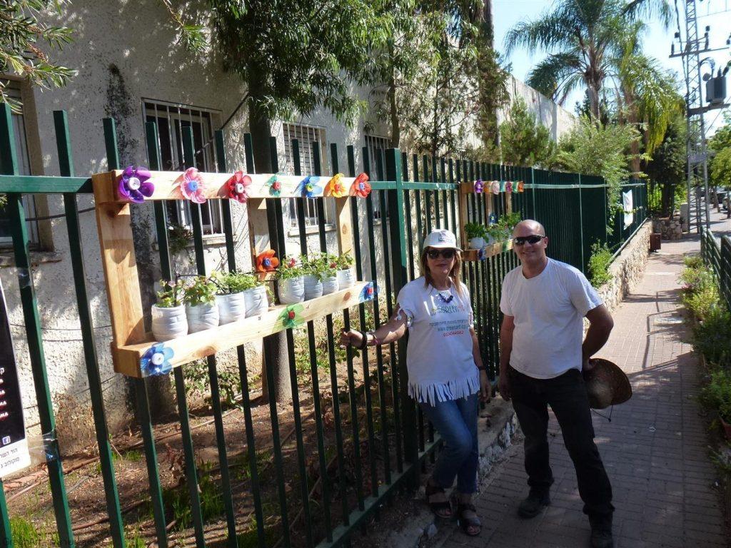 פעילות חינוכית שהופכת פסולת עירונית לפריחה צבעונית ולתרומה לסביבה