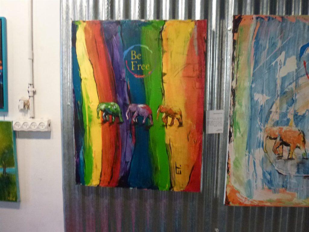אמנים מציגים בתערוכת - חיבוק ירוק 2- למען שמירת הסביבה