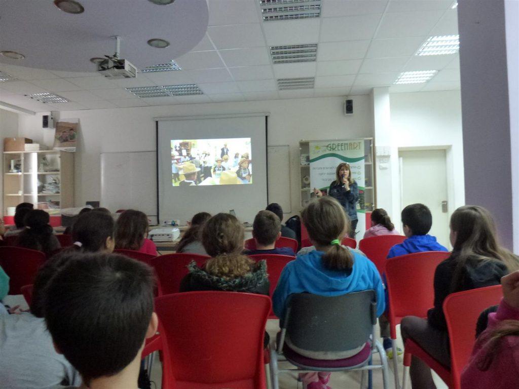 כיצד להושיט את ידינו לסביבה - רשמים מהרצאה לתלמידי בית הספר הגפן ברמת גן