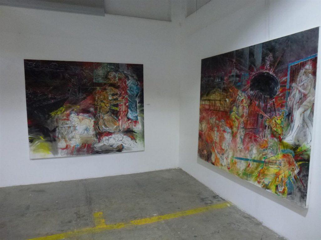 תמונות של אמנים המציגים בתערוכה האקטיבית אביב 2017