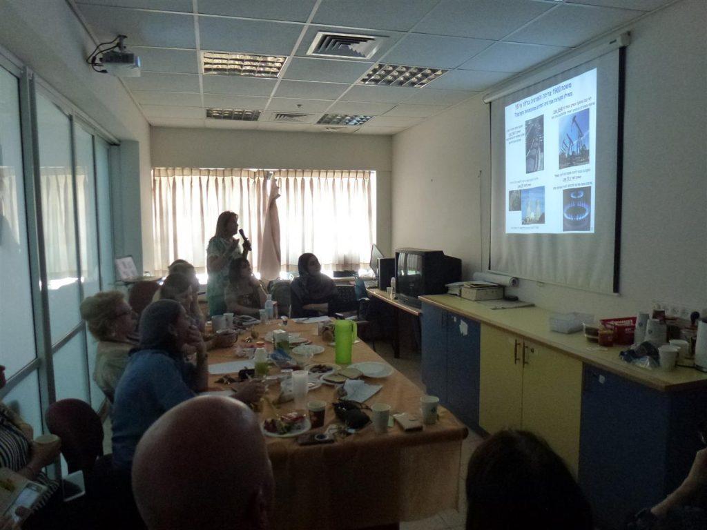 הרצאות העשרה למורים בבית הספר העמק בעפולה בשיתוף עמותת המורים