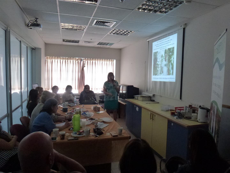 הרצאות העשרה לחינוך לקיימות מטעם עמותת המורים למורי העמק בעפולה