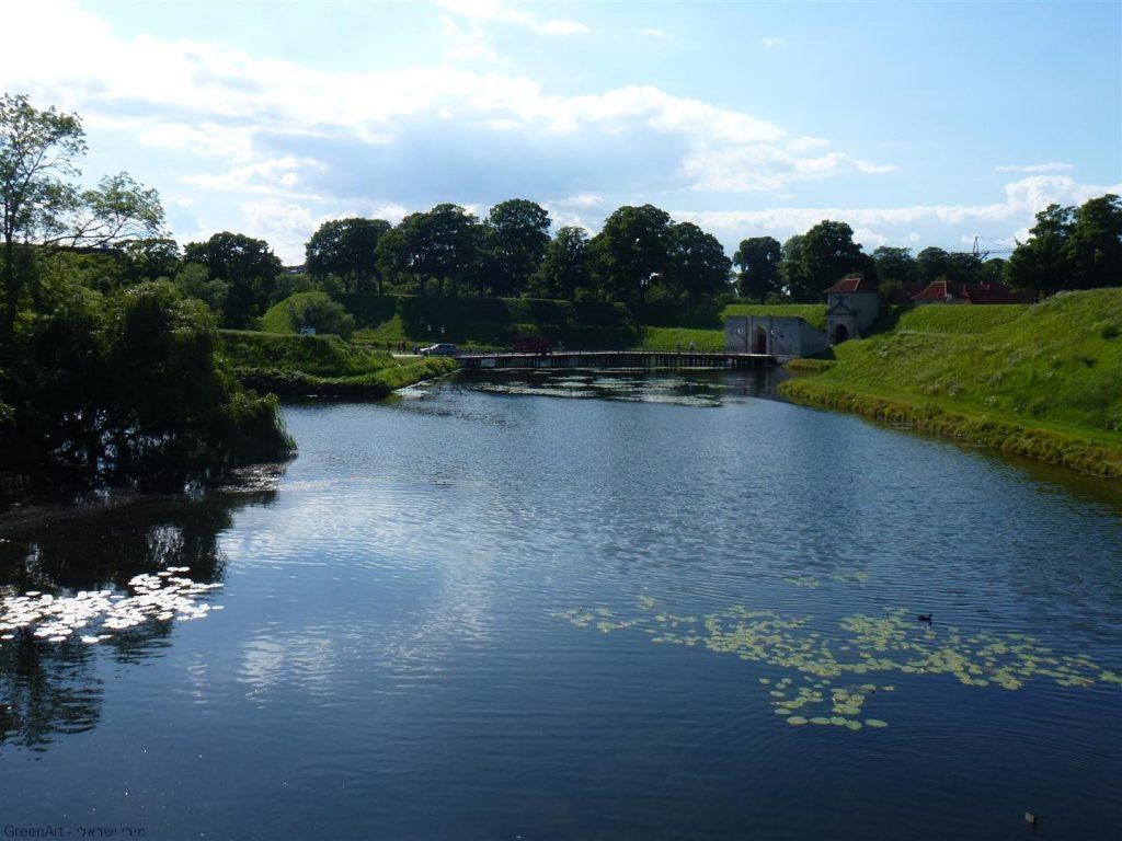 ירוק על המים בקופנהגן