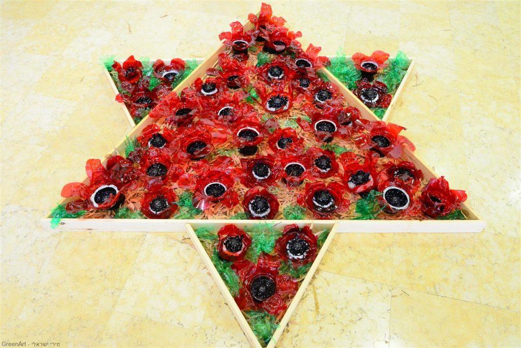 מגן דוד סביבתי דומם-צומח לשימור פרחי הבר בנוף המולדת