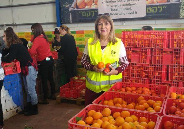"""סיור חוויתי בארגון """"לקט ישראל"""" – ארגון להצלת מזון הגדול בארץ"""
