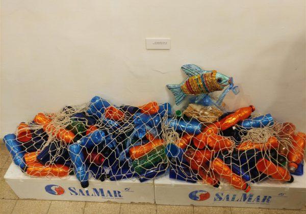 """תערוכת אמנות סביבתית """"לא חד פעמי"""" בגלריה בגן שמואל (דצמבר 2019)"""
