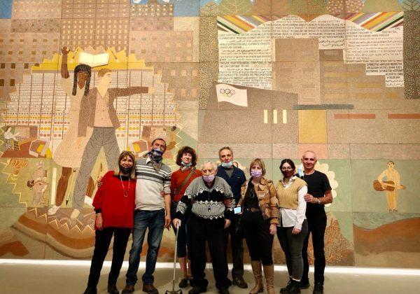 """תערוכה נדירה """"התנאי לשגשוג האנושות"""" של אמן הטבע מלך ברגר המוצגת במוזיאון תל אביב."""
