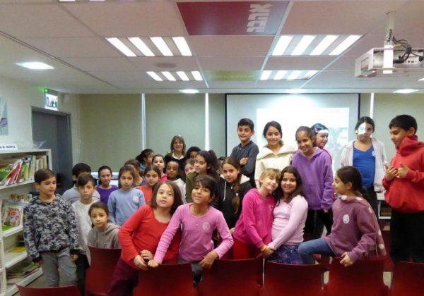 """הרצאות לקידום החינוך הסביבתי בביה""""ס """"יגאל אלון"""" בבת ים"""