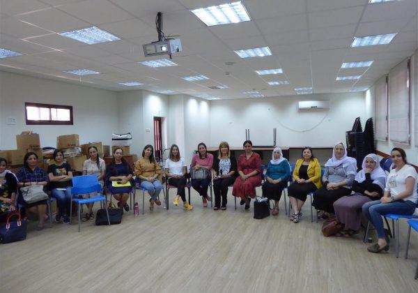 """השתלמויות לחינוך לקיימות למורים בחט""""ב """"אלרואיא"""" בירכא"""