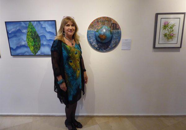 """תערוכת אמנות """"חיבוק ירוק 4"""" אמנים למען שימור הטבע והסביבה (נובמבר 2019)"""