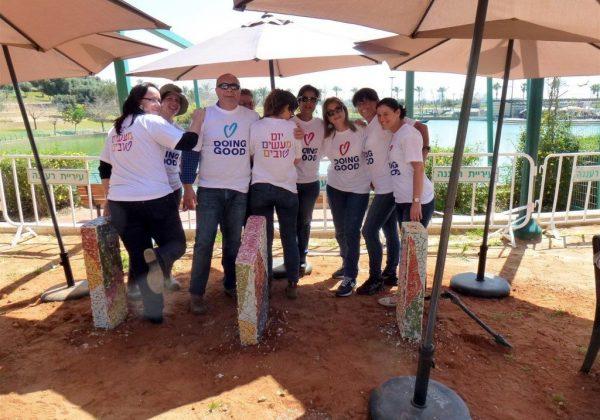 """פעילות התנדבותית תרומה לקהילה ב""""יום המעשים הטובים"""" מרץ 2015"""