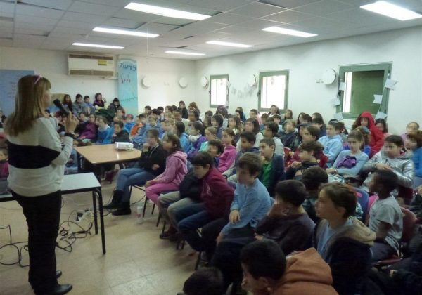 הרצאות העשרה לקידום החינוך הסביבתי לתלמידי בתי הספר