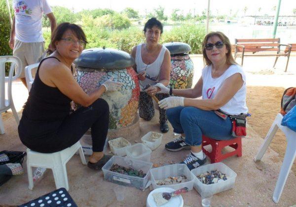 שיקום גן הריחות והצלילים בפארק רעננה – התנדבות למען הקהילה