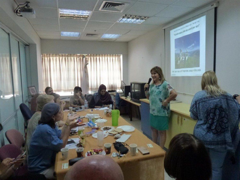 """מפגשי העשרה למורי """"העמק"""" עפולה לקידום החינוך הסביבתי בשיתוף הסתדרות המורים"""